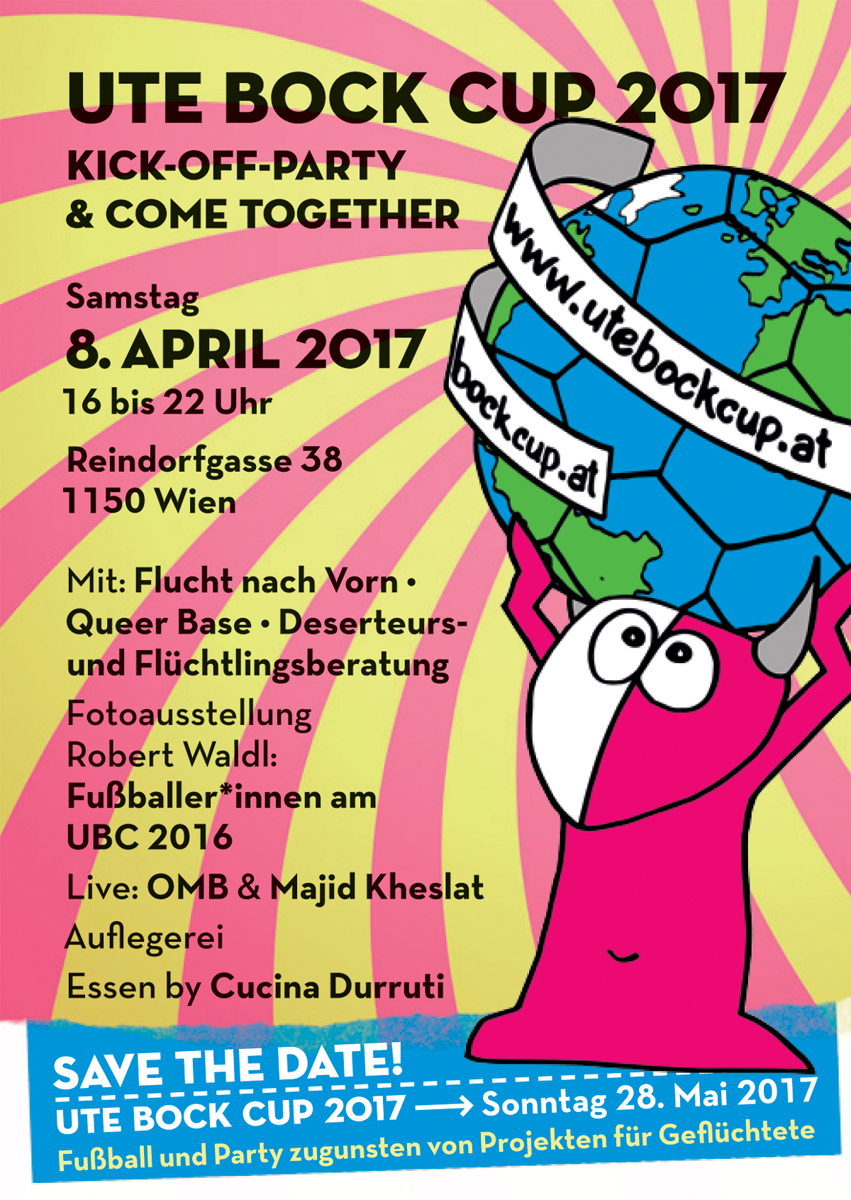 UBC 2017 Kick-Off Plakat